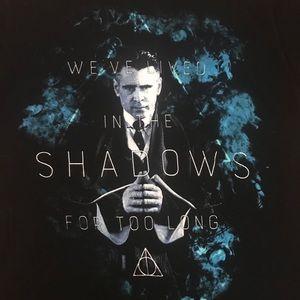 Warner Bros. Tops - Fantastic Beasts Harry Potter Black T-Shirt